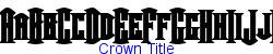 Crown Title    9K (2002-12-27)