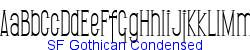 SF Gothican Condensed   94K (2002-12-27)