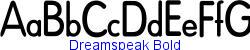 Dreamspeak Bold  133K (2002-12-27)