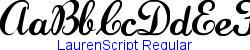 LaurenScript Regular   19K (2005-02-24)